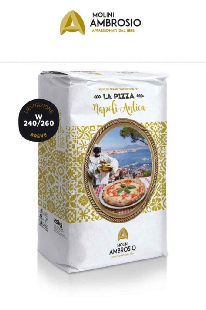 Farina Ambrosio per fare la pizza in casa