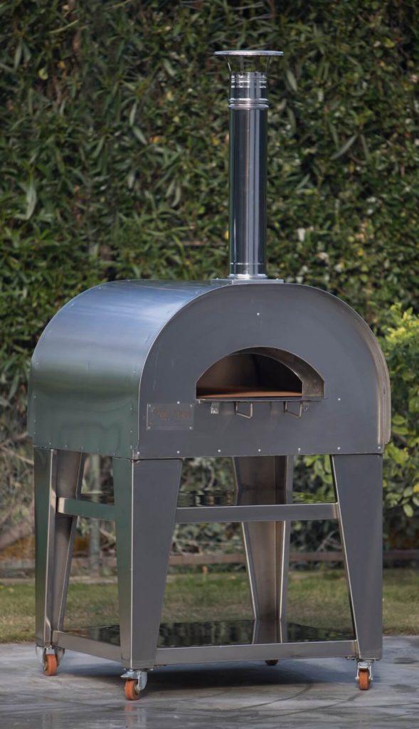 forno in acciaio pratico per la pizza napoletana