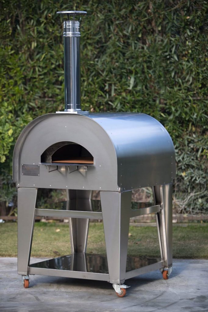 compulsion of wood fired oven