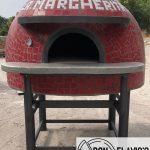 size of Italian brick oven